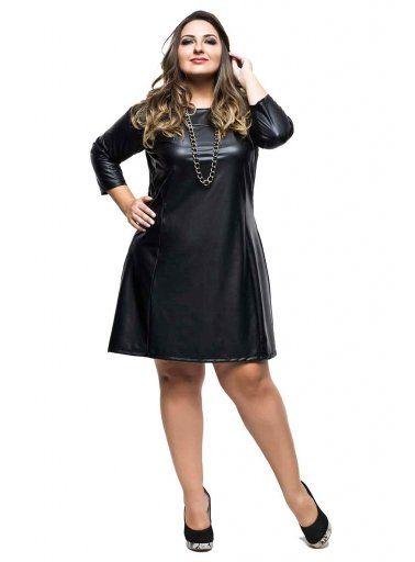 Vestido de cirrê preto - Xica Vaidosa