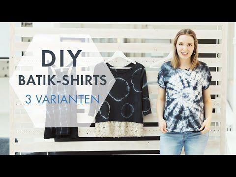 DIY-Mode-Tutorial: 3 Batik-Muster zum Selbermachen | Stylight