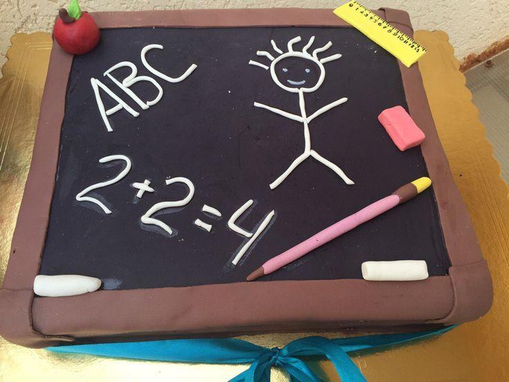 С Днём знаний , Друзья! Наша кондитерская приготовила сегодня вот такой торт для детей , посетивших праздник в ТРК ПЛАНЕТА! Мы всегда поддерживаем социальные проекты!