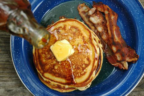 Campfire Beer Pancakes | 34 Things You Can Cook On A Camping Trip