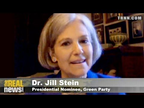"Green Party Presidential Candidate Presents a  ""New Green Deal""  #realnews #news #news2013"