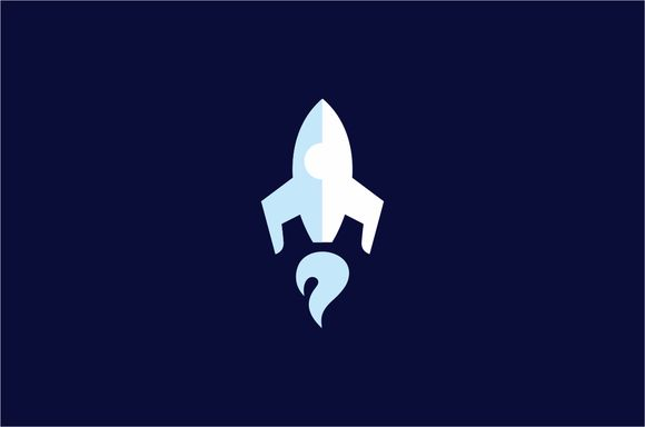 Rocket Logo Template by Logo on Creative Market