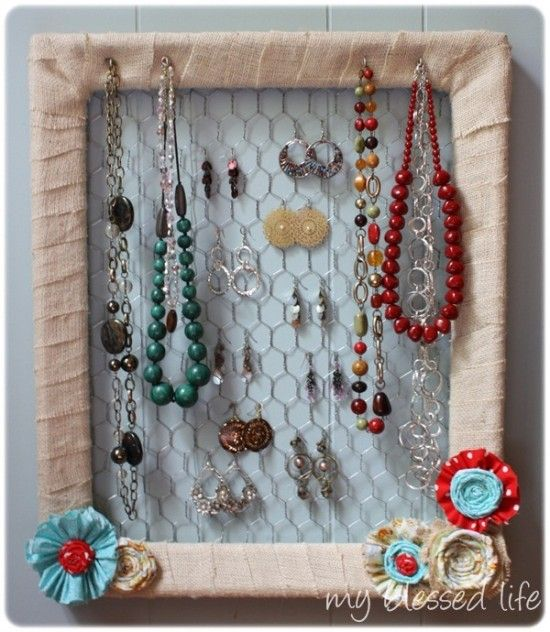 kind of like the window frame jewelry holder i've been thinking about ...