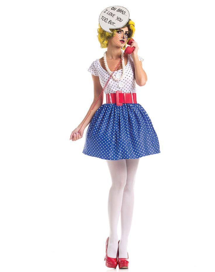 Pop Art Cutie Adult Womens Costume – Spirit Halloween