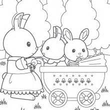 51 best Calico Critters Coloring Pages images on Pinterest
