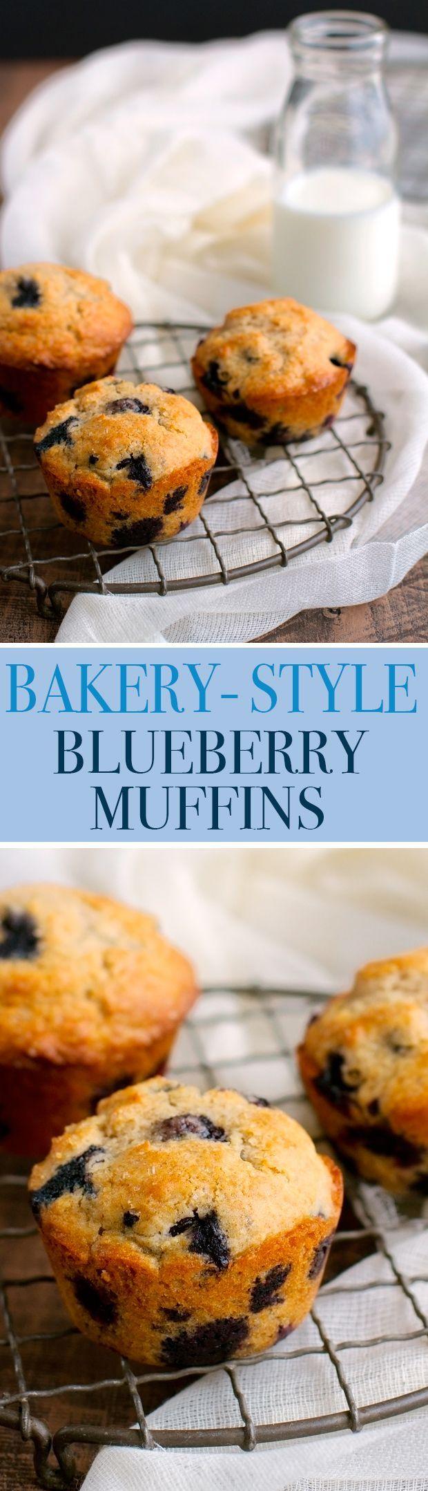 Bakery Style Blueberry Muffins - Ready in 30 minutes and the most ...