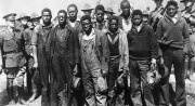 The  Scottsboro Boys on March 25 1931 nine black boys were hitching a ride aboard the Southern Railroad freight train a fight broke out between the black and white kids. When the train stationed at Paint Rock, Alabama, the police and a mob of angry white men were waiting for the black boys to arrest them. However, the boys were charged with raping two white women Victoria Price and Ruby Bates instead of fighting with the white kids. All the boys, except the youngest, were sentenced to death.