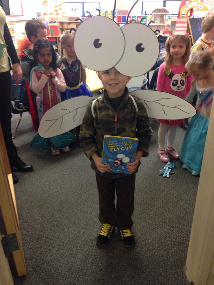 Literacy day fly guy