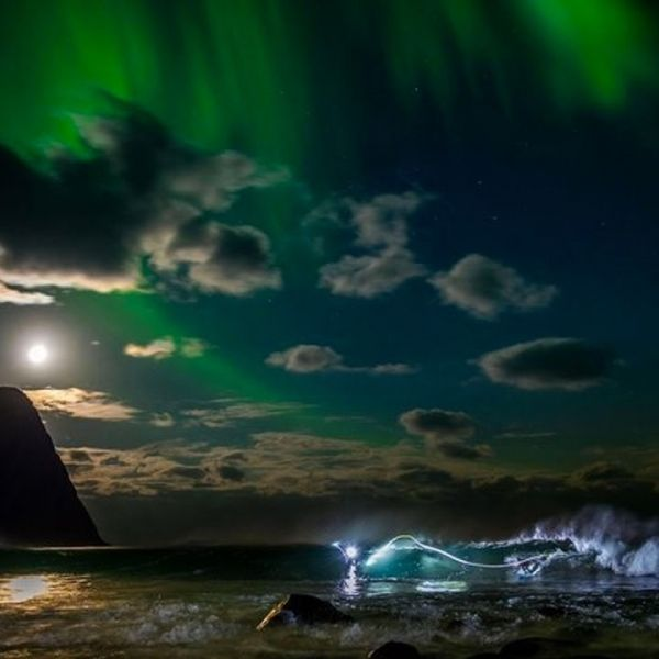 Surfing Under The Northern Lights W/ Mick Fanning | Chasing The Shot: Norway Ep 1 :: Mick Fanning Surf Video. Watch this surf video now.