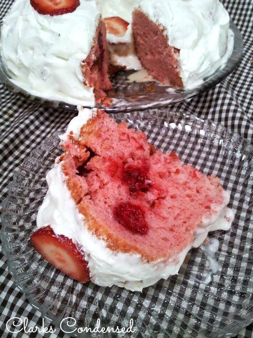 Strawberry Shortcake Tres Leches Bundt Cake