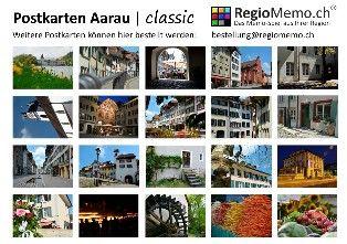 20 Postkarten von Aarau  Ihre Region trägt Ihre Handschrift!   Wann haben Sie zuletzt eine Postkarte erhalten? Mit einem Set von 20 Postkarten aus Ihrer Region möchten wir Ihnen dies ermöglichen. Statt einer Facebook- oder SMS-Nachricht schreiben Sie doch wieder einmal eine handgeschriebene Postkarte. Der Empfänger wird staunen und Sie auch! Jedes Set beinhaltet 20 verschiedene Karten, schön verpackt in einer Aludose.