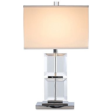 Cindy Crawford Style Crystal Facets Table Lamp 75 00 Lamp Table Lamp Cindy Crawford Style