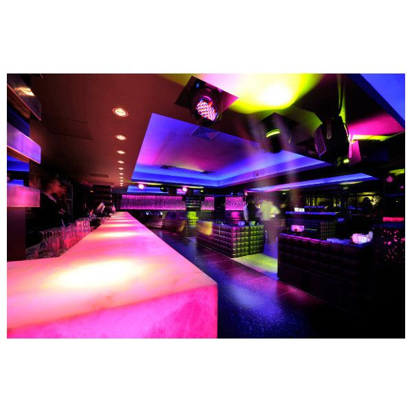 The L'Arc Paris Bar, Restaurant and Nightclub ❤ liked on Polyvore