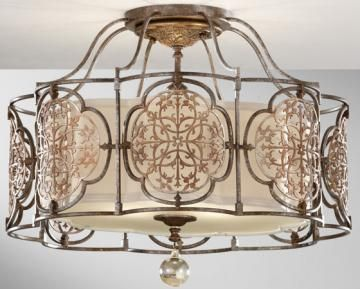 Marabelle Semi Flush Mount 739 Home Decorators Collection Lighting Pinterest