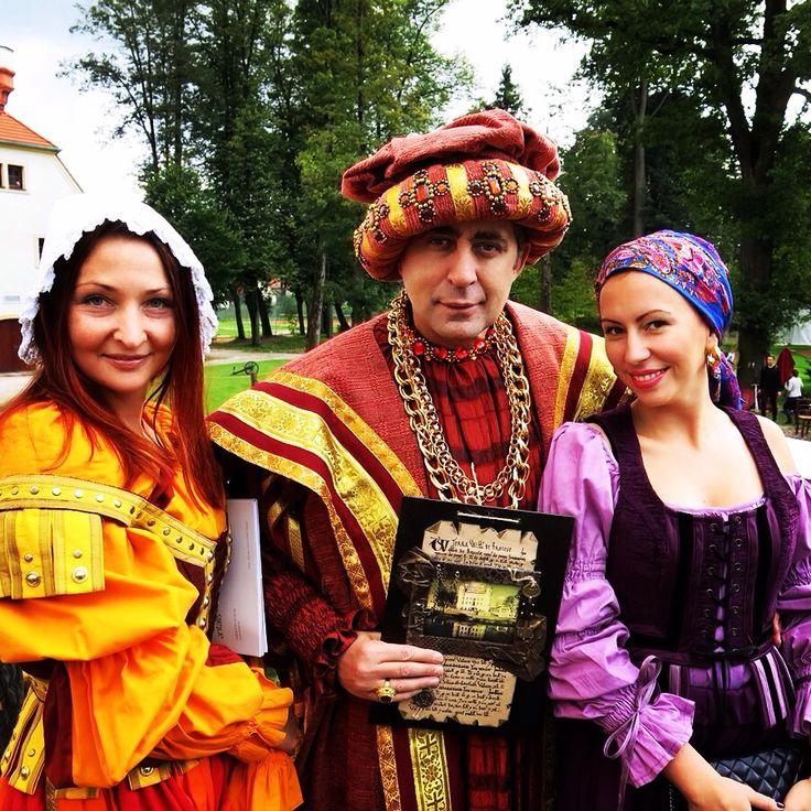 Средневековая свадьба в Польше.