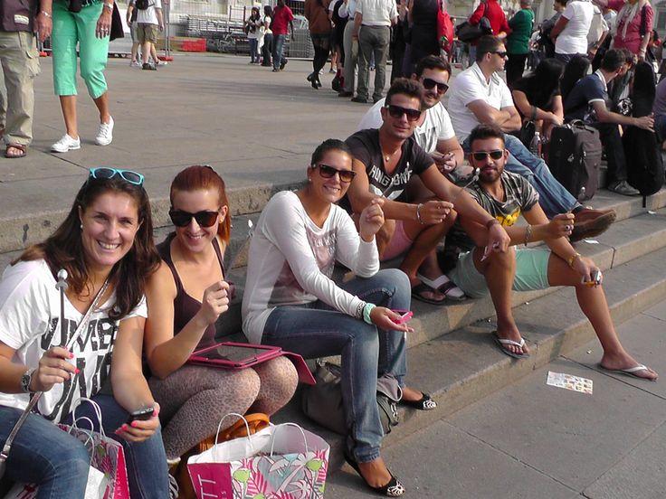 guerrilla marketing Milano @ Piazza del Duomo