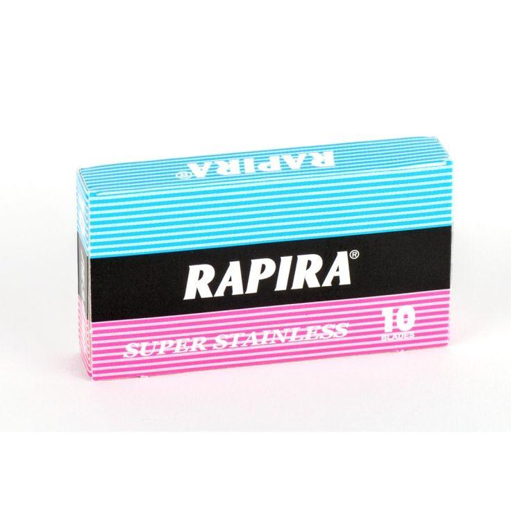 Rapira Classic -kaksipuoleiset partaterät - 10 kpl
