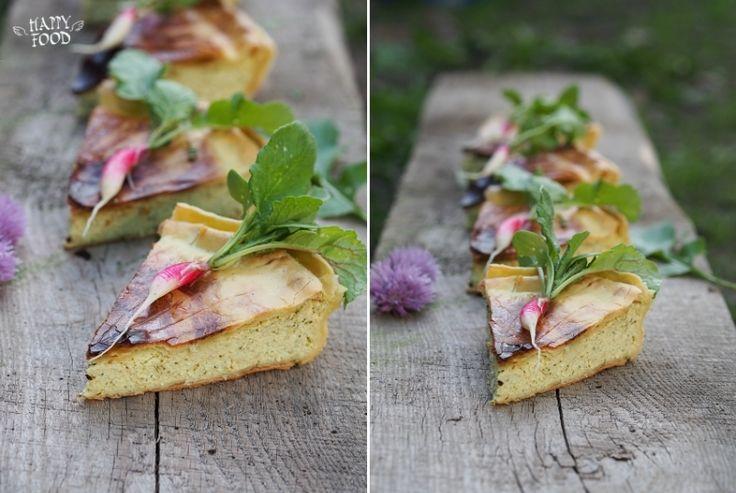 Творожно-сырный пирог в итальянском стиле