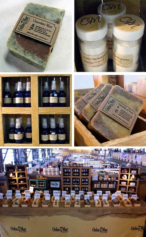 Osha Mae Soap labels