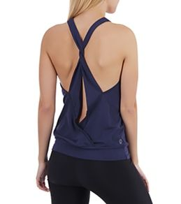 Tonic Womens Triangle Banded Yoga Tank at YogaOutlet.com - Free Shipping