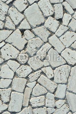Texture pavimentazione in pietra bianca