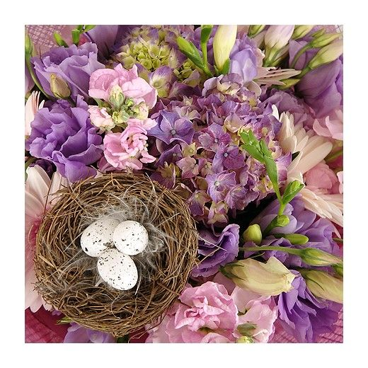 Pastel Easter Bouquet - Auckland Delivery Only - Bestow Gifts + Flowers