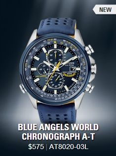 U.S. Navy Blue Angels watch with silicon rubber band ...