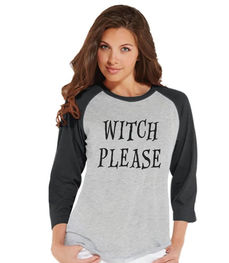 witch please tshirt halloween party shirt adult halloween costumes funny halloween shirt - Halloween Shirts For Ladies