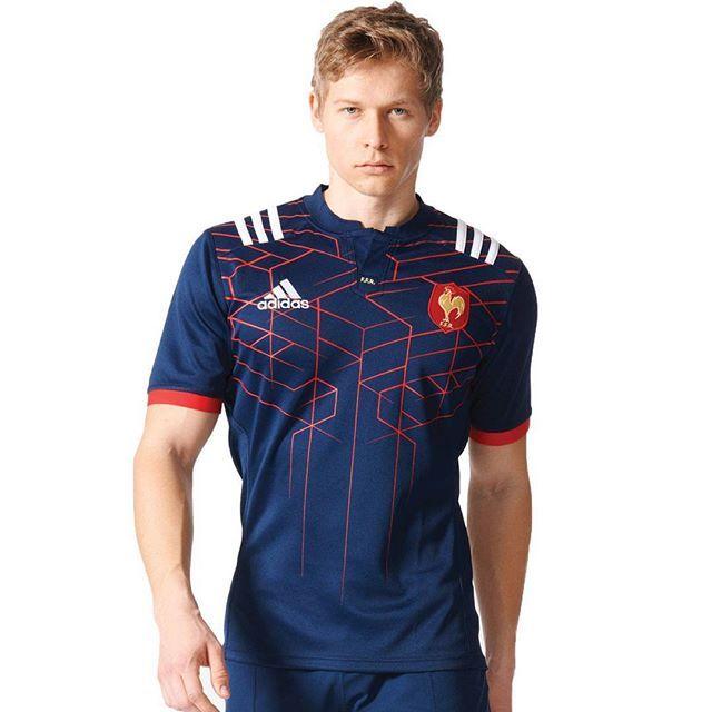 Proti Anglii Francouzi patrně nastoupí v modré variantě dresů / France to wear this jersey variant against England probably.  #ragby #sport #dres #design #cesky #czech #blog #francie #france  #rugby #sixnations #rbs6nations #kit #jersey