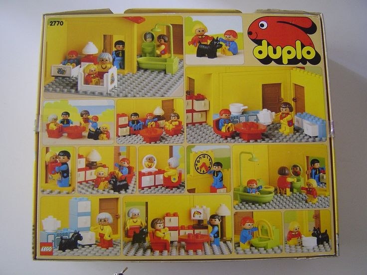 lego duplo 2770 haus inklusive m bel 58 teile spielzeug duplo pinterest lego. Black Bedroom Furniture Sets. Home Design Ideas