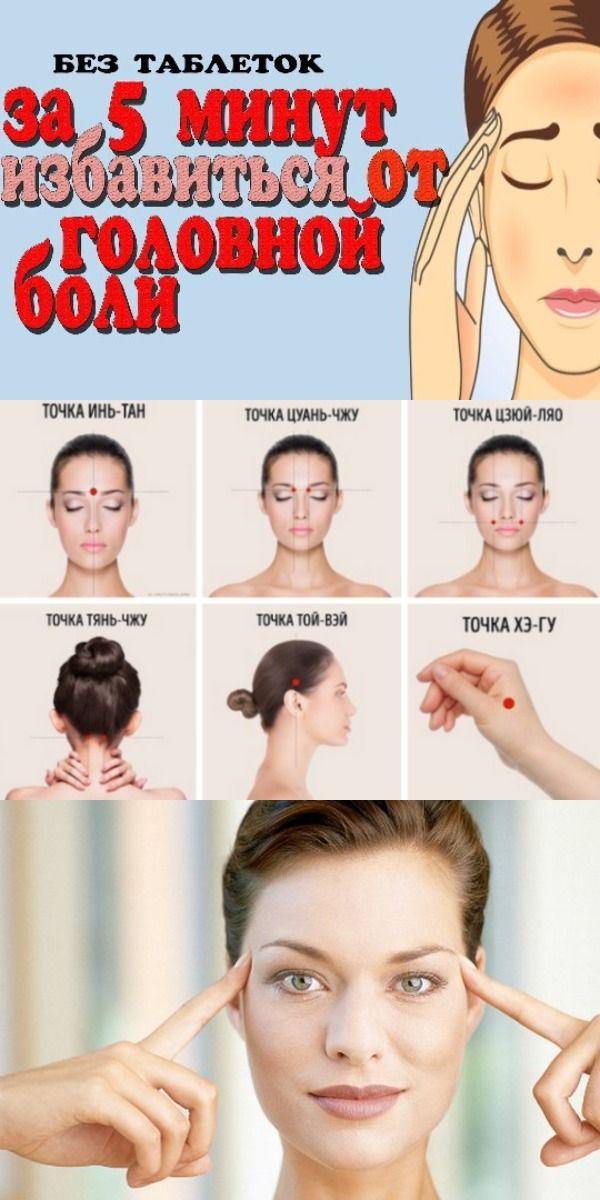 Как избавится от головной боли
