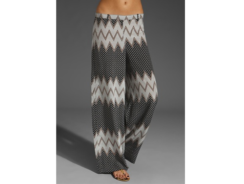 Easy, breezy palazzo pants; AKA comfy pants level 100