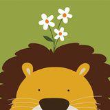 Peek-a-Boo IX, Lion Poster por Yuko Lau na AllPosters.com.br