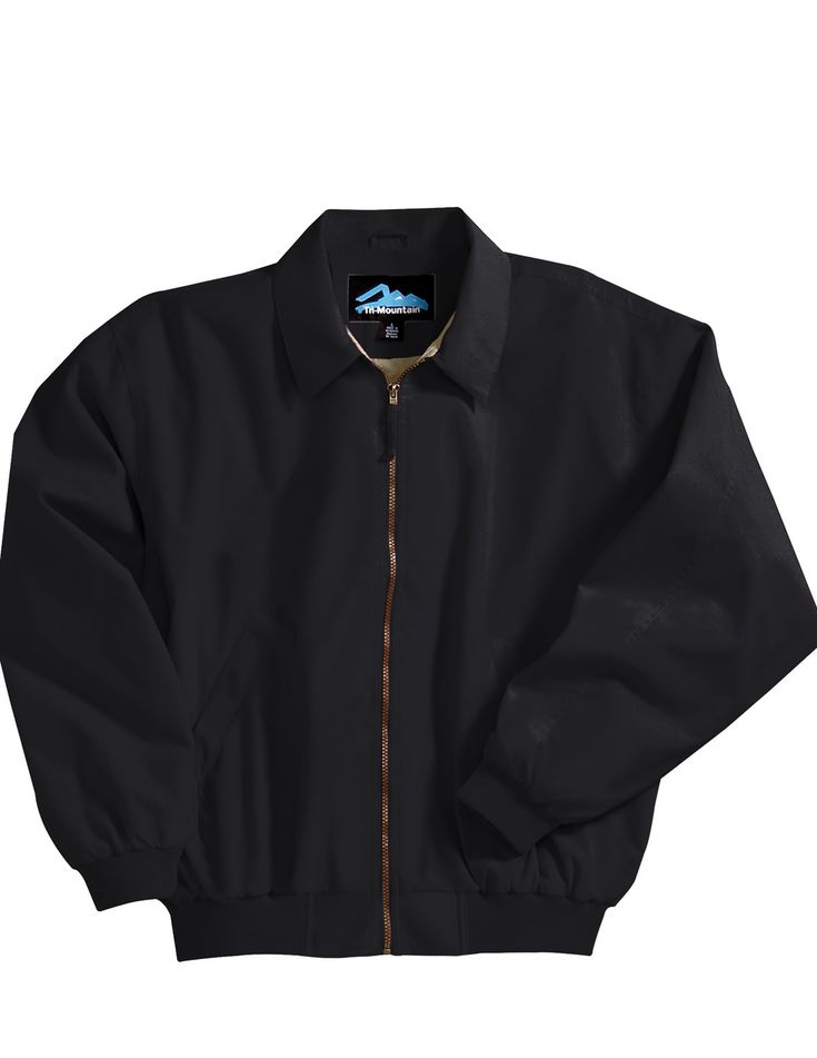 Microfiber Jacket With Poplin Lining.  Tri mountain 6000 #Jacket #Women #Trimountain #fashion #black