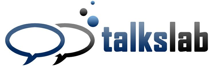 TalksLab logo design