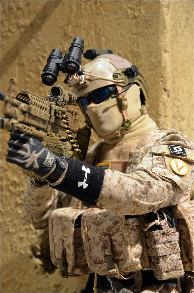Custom 1/6 Navy Seal Team 6 Gunner Photo by MarLin_67 | Photobucket