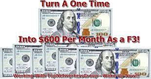 Turn a single investment into residual income.. How?  There's a secret everyone wants to get in on, it's time to really find the key to success and take action. Only the risk takers will succeed, others will get lost and play catch up.
