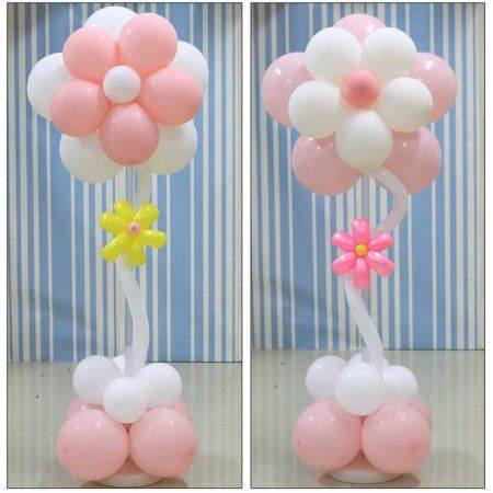 20 Balloon Clips Snowflake Clip Tie Filled Helium Air Balloons Wedding Party