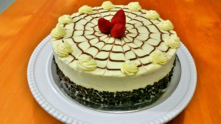 Choco-liqueur cake :)
