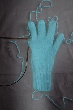 gant en angora