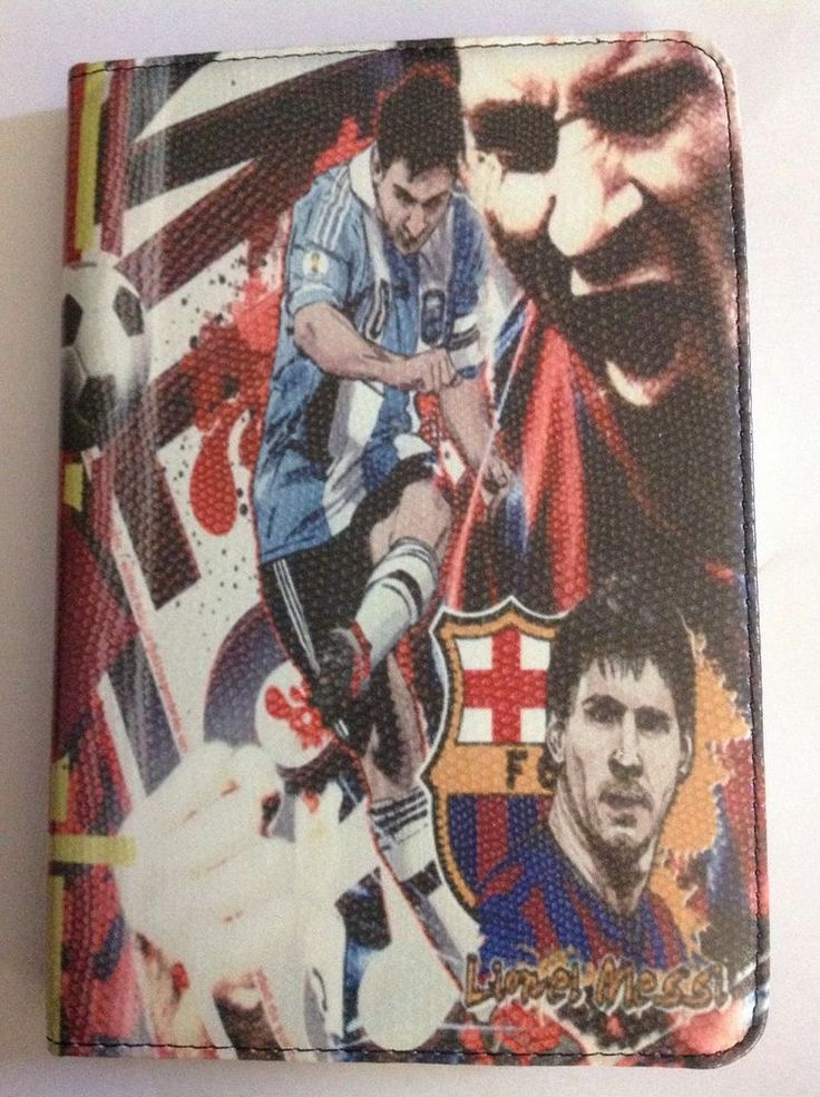 New FC Barcelona Lionel Messi Argentina Cover Case For iPad 2,3 And 4