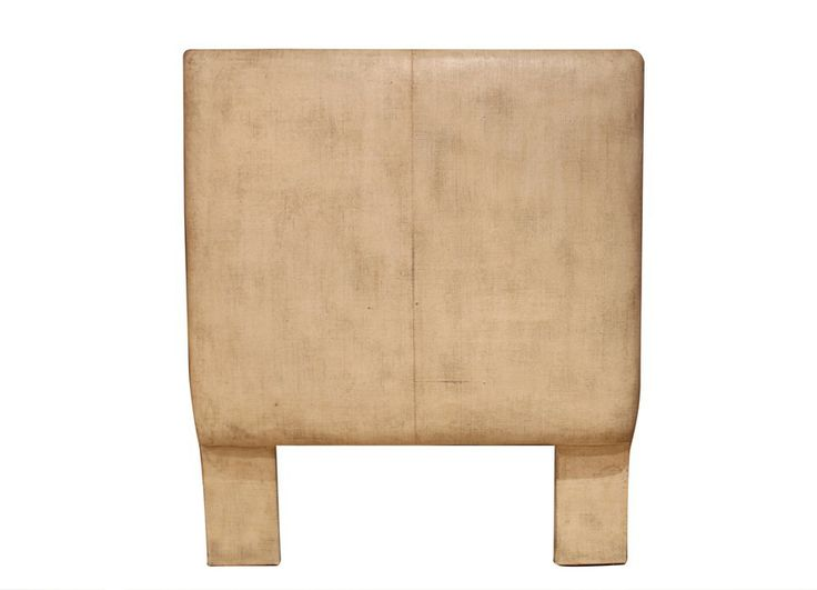 Kent Headboard: Gesso Headboard Made With Low VOC Materials