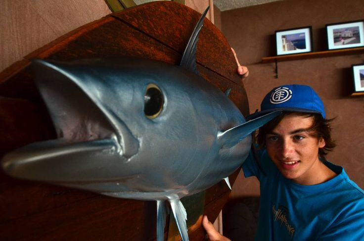 KURTIS Nocelli has hit back.  The 15-year-old caught an impressive 144 kilogram marlin in the Golden Lure Fishing Tournament.