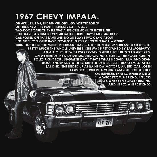 1967 Chevy Impala shirt