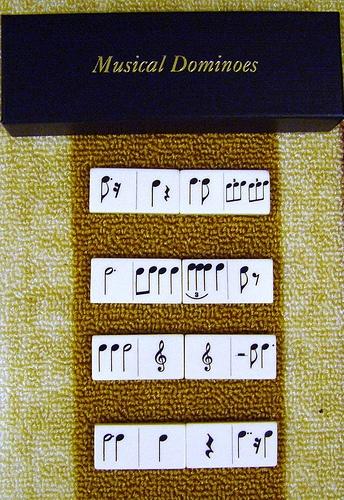 musical dominoes by rabinal, via Flickr