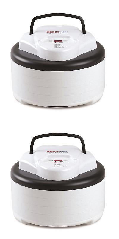 Food Dehydrators 32883: Nesco American Harvest Digital Top Mounted 4-Tray Food Dehydrator -> BUY IT NOW ONLY: $90.98 on eBay!