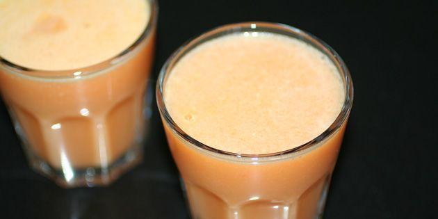 Sund og fyldig juice med karakteristisk smag af blomkål, sødme fra æbler og et syrligt strejf af citron samt skarphed fra ingefær.