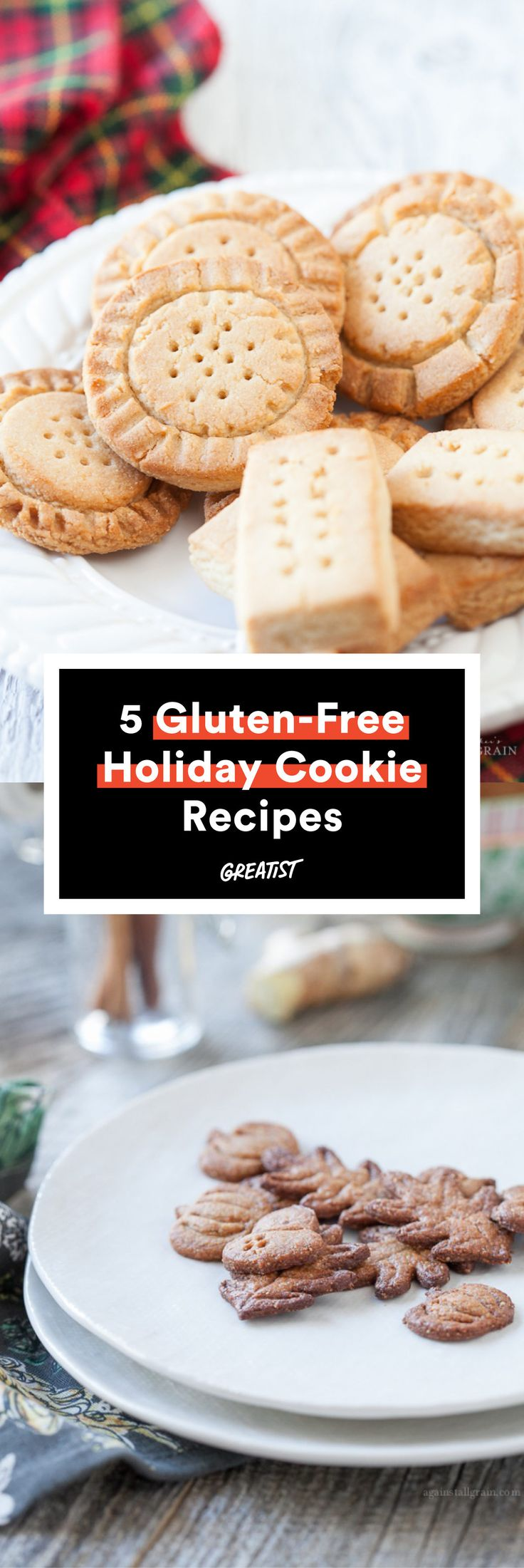 Because what if Santa went GF this year? #greatist http://greatist.com/eat/gluten-free-holiday-cookies