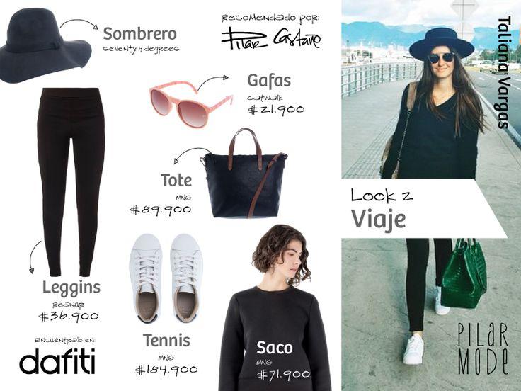 Taliana Vargas- Look viaje