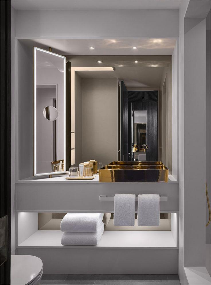 Nobu hotel shoreditch bathroom please credit will pryce - Banos de hoteles ...